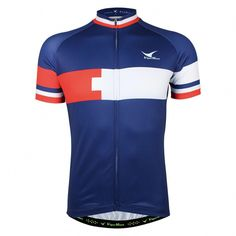 1c17e338c Buy Premium Navy Blue Cycling Jersey Men Short Sleeve Breathable Quick Dry  - Jersey - and shop more latest Men s Active Tees all over the world.
