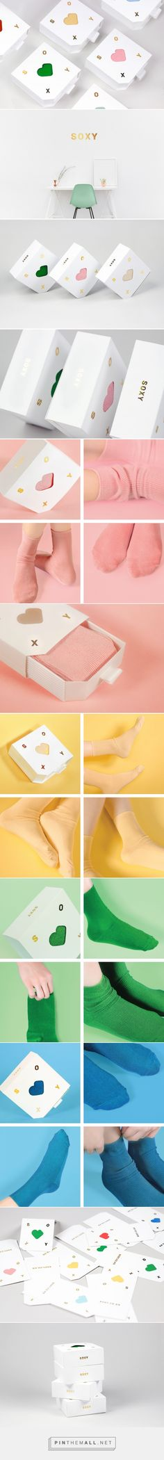 SOXY Socks Packaging by Juliette Kim | Fivestar Branding Agency – Design and Branding Agency & Curated Inspiration Gallery