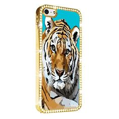 Tiger Cool Gold iPhone 5/5S Case Luxury Style Cover Diamond Crystal Rhinestone Bling Hard Gold Case Cover for iPhone 5 and 5S PAZATO http://www.amazon.com/dp/B00NQTLOUC/ref=cm_sw_r_pi_dp_VHziub07RX4D4