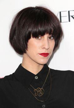 Devin Star Tailes's Mod Bowl Cut - 10 Fresh Ways to Wear Short Hair - Photos