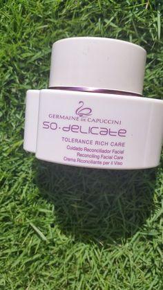 Germaine de Capuccini So Delicate Tolerance Rich Care  #GermainedeCapuccini #SoDelicate #DrySkin #RemedyForDrySkin #SkiniTrini