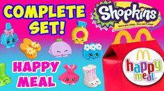 Shopkins McDonalds Happy Meal Toys Full Set of 16 ToyBoxMagic