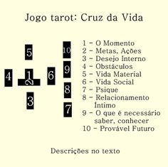 cruz da vida - The tarot is a pack of playing cards Tarot Card Spreads, Tarot Cards, Book Of Saints, Fortune Telling Cards, Mystical World, A Kind Of Magic, I Ching, Magic Spells, Book Of Shadows