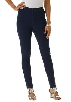 83770d80477 Plus Size Roaman s® Petite Stretch Bootcut Leggings