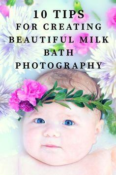 DIY Tutorials  | Milk bath photography  | DIY milk bath photos | How to | newborn photo inspiration | maternity photo |