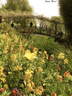Claude Monet's garden and home at Giverny.