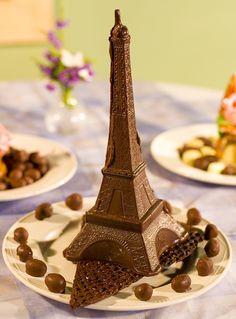 chocolate #Eiffel tower