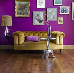 It's official! @PANTONE COLOR has named radiant orchid as color of the year for 2014.