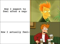 expectation vs. reality: naps