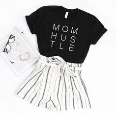 Wife Mom Boss Shirt, T Shirt Boss, Babe T Shirt, Boss Shirts, Mama Shirt, Boss Babe, Supermarket, Peinados Pin Up, Retro Outfits