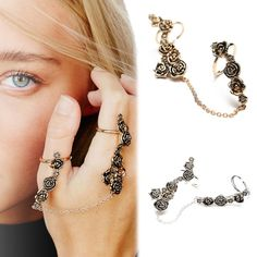 You will find all the best accessories to make your party outfit pop this holiday season. Sparkly jewelry and envelope clutches, as well as pretty hair wraps and the perfect dangling earrings all i...