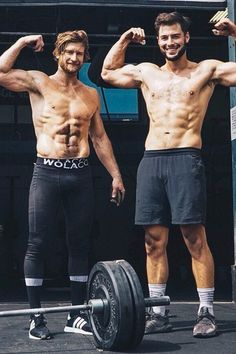 The Abs on These CrossFit Guys Might Burn Your Eyes (in the Best Way Possible)