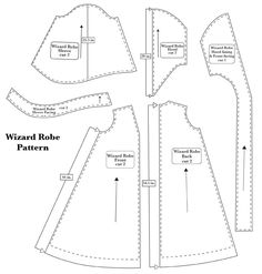 Harry Potter robe pattern