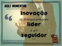 Você lidera a inovação ou segue ideias que um dia deram certo? http://goo.gl/EnHh5E #Frase #Lideranca #SteveJobs