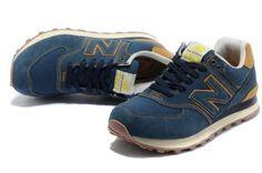2013/574 zapatillas retro, serie de ropa de mezclilla de los hombres ocasionales