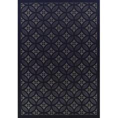 Indoor Outdoor Stunning Modern Rug Black