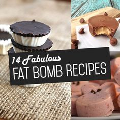 These fabulous fat bomb recipes will be sure to deliver with both taste AND nutrition!