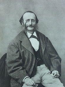 Jacques Offenbach- ( 20.Juni 1819- 5.Oktober 1880 ) war ein deutsch-französischer Komponist und Cellist. Er gilt als Begründer der modernen Operette.