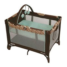 Amazon.com : Graco Pack N Play Playard Bassinet with Automatic Folding Feet, Pasadena : Baby