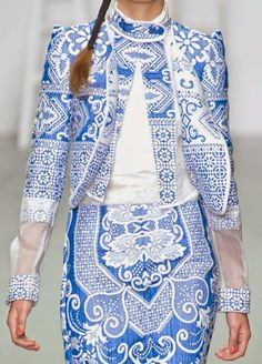 patternprints journal: PRINTS, PATTERNS AND SURFACES FROM LONDON FASHION WEEK (WOMAN COLLECTIONS SPRING/SUMMER 2015) / Bora Aksu