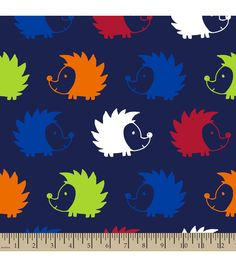Blizzard Fleece Fabric-Hedgehogs Blue Online Craft Store, Craft Stores, Joann Fabrics, Fleece Fabric, Fabric Crafts, Magenta, Snoopy, Scrapbook, Hedgehogs