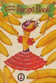 Chiquita Banana's Recipe Book 1954