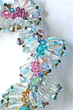 Lilian Chen - Crystal Lace Bracelet Lace Bracelet, Chen, Wedding Jewelry, Wire, Butterfly, Brooch, Jewellery, Crystals, Amazing