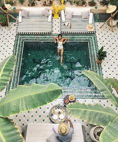 Le Riad Yasmine, Marrakech, Morocco