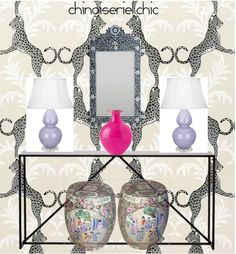 Chinoiserie Chic: Chinoiserie Chic Inspiration Boards