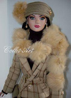 "2013 Tonner 22"" American Model OOAK Fashion ""Celebrate Autumn"" Collet-Art   Flickr - Photo Sharing!"