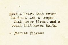 Dickens. Victorian truth.