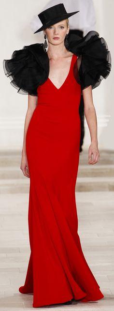 ✜ Ralph Lauren SS 2013 ✜ http://www.vogue.com/collections/spring-2013-rtw/ralph-lauren/review/#