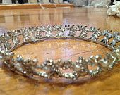 Vintage Crystal/Pearl Bridal Tiara - available for purchase on our etsy store!