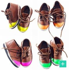DoBundle- Shop adorable neon cap toe kicks!