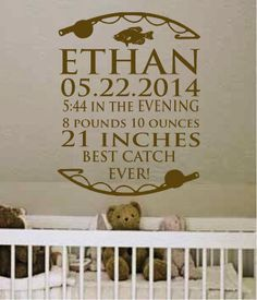 18 X 23 Personalized Baby Birth Name Date by designstudiosigns, $38.00