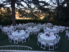 """Garden reception for Kelly Nishimoto's wedding from TLC's """"Something Borrowed Something New"""" at the  #kellogghouse #tlc #somethingborrowedsomethingnew #kellynishimoto #wedding #outdoorvenue #venue #outdoorreception #reception #love #marriage #garden"""