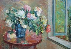 Buy Peonies., Oil painting by Viktor Makarov on Artfinder. Discover thousands of other original paintings, prints, sculptures and photography from independent artists.