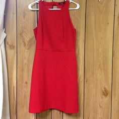 Beautiful red dress From madrid spain. Worn once for a photo shoot. The quality of this dress is amazing! Only selling because it sadly no longer fits me. Still have tags and will include it in the purchase. Do not miss out on this dress ladies. So so so rare in america, stand out in this one Dresses Mini
