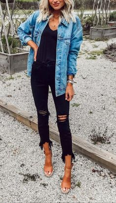 Winter Outfits For Women urban Click the link to get more information. Winter Outfits For Women urban Style Outfits, Mode Outfits, Casual Outfits, Fashion Outfits, Casual Summer Outfits With Jeans, Fasion, Jeans Fashion, Grunge Outfits, Outfit Jeans