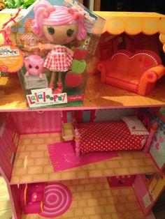 Lalaloopsy Large Doll House U0026 Furniture Lot Pepper Pots N Pans