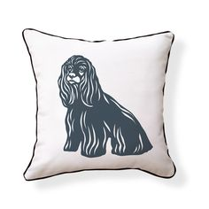 Naked Decor » COCKER SPANIEL PILLOW