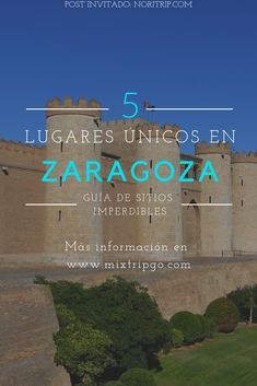 Quieres descubrir la capital de Aragón? No te preocupés, en este articulo sabrás cuales son los 5 lugares obligatorios en tu visita a Zaragoza. Aragon, 3d Printer Projects, Greece Travel, Solo Travel, Where To Go, Travel Destinations, Spain, World, Places