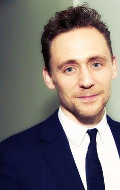Tom Hiddleston. Perfect.
