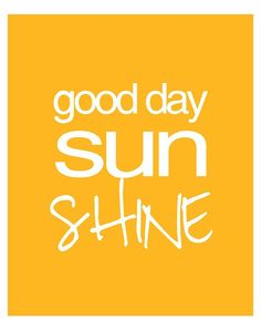 Sun shine printable cards for project life and smashbook