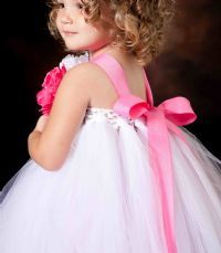 tutu dress i can jus c my jazzy in now! gotta make this! flower girl dress:)