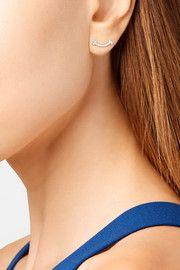 Tiffany & Co. T Sorriso 18 carati orecchini di diamanti in oro bianco