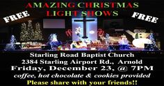 This is a Christmas Light Show I did at my church last December.