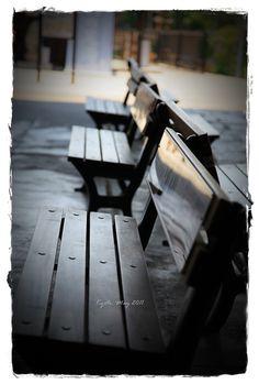 Empty chair, Kyoto, Japan,2011