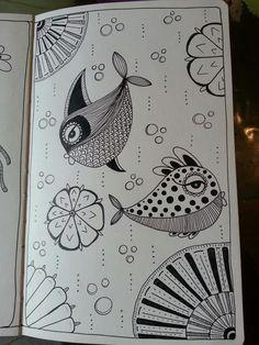 Kai-Zen Doodles: Under the Sea & The Forest