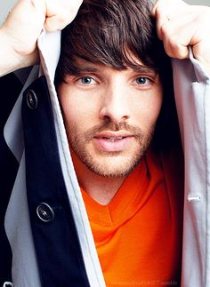 Those lips tho  Colin Morgan (bbc's Merlin)